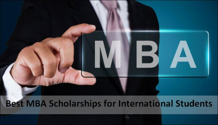 Best MBA Scholarships for International Students