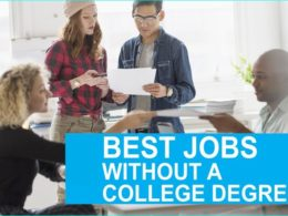 Best Jobs without a College Degree