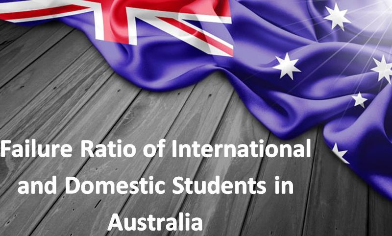Failure Ratio of International and Domestic Students in Australia