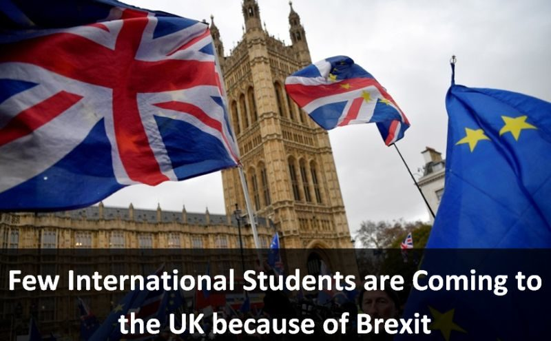 Few International Students are Coming to the UK because of Brexit