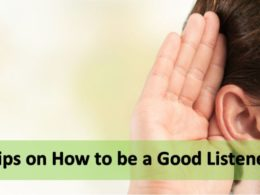 Tips on How to be a Good Listener