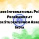 India Government has Launched 1,000 PhD Fellowships to ASEAN Students