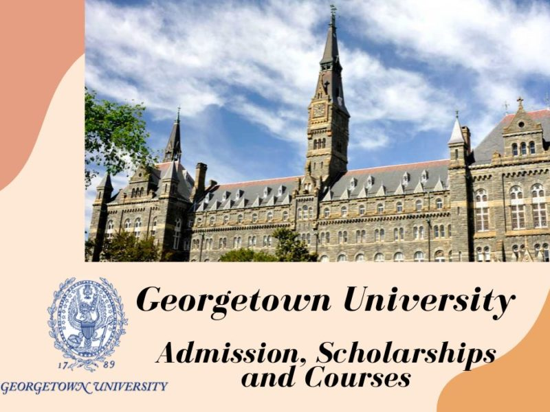 Georgetown university application essay does