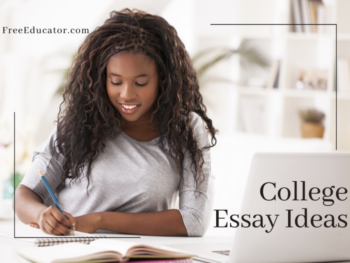 Best college admission essays length