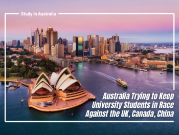 Australia Trying to Keep University Students in Race Against the UK, Canada, China