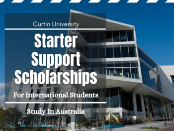 Australian Curtin University Starter Support Scholarships for Semester 1, 2021