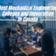 Best Mechanical Engineering Colleges and Universities in Canada