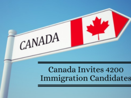 Canada Invites 4200 Immigration Candidates