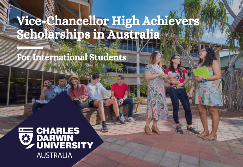 Charles Darwin University Vice-Chancellor High Achievers Scholarships, Australia