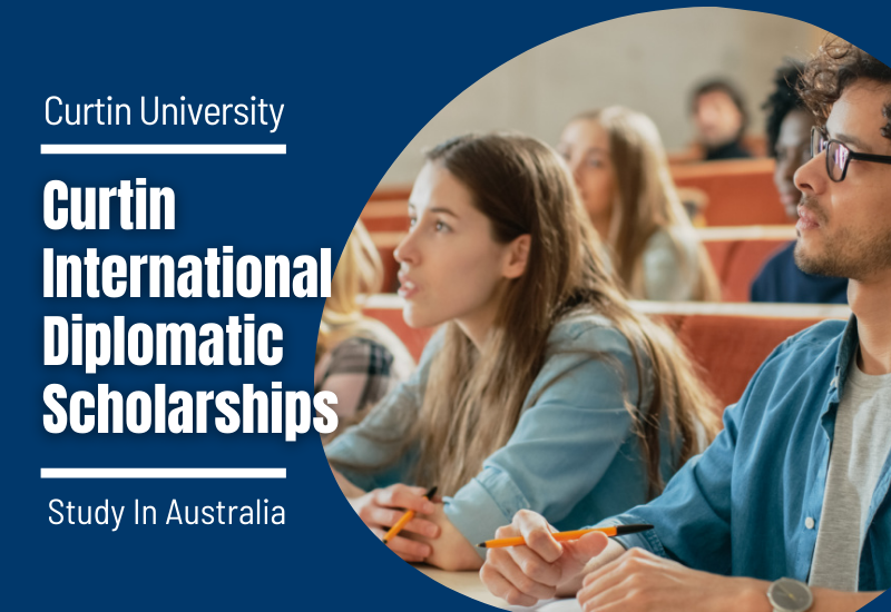 Curtin International Diplomatic Scholarships in Australia, 2020-2021