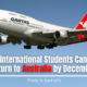 International Students Can Return to Australia by December