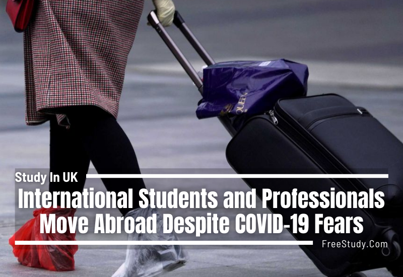 International Students and Professionals Move Abroad Despite COVID-19 Fears