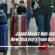 Japan may ease restrictions on entry into the country by people from around the world next month. Japan will relax from October its border restrictions aimed at controlling the spread of the novel coronavirus. Study In Japan.