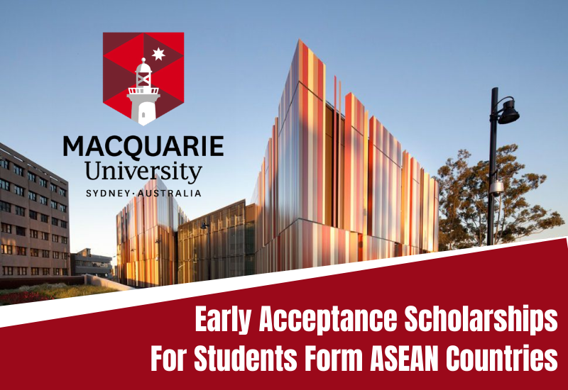Macquarie University Early Acceptance Scholarships for ASEAN Countries