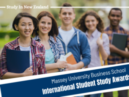 Massey Business School International Student Study Awards in New Zealand