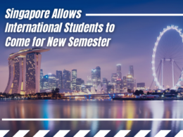 Singapore Allows International Students to Come for New Semester