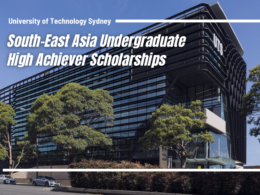 South-East Asia Undergraduate High Achiever Scholarships at UTS in Australia