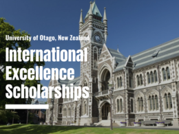 University of Otago International Excellence Scholarships in New Zealand