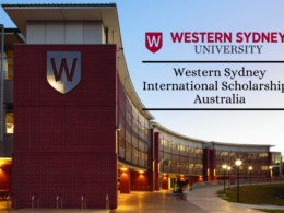 Western Sydney University International Scholarship, Australia
