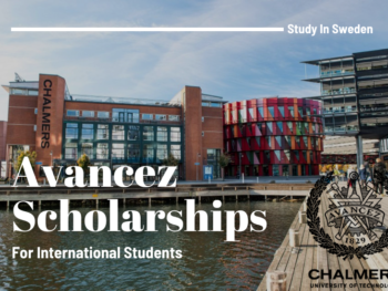 Chalmers University of TechnologyAvancez Scholarship in Sweden