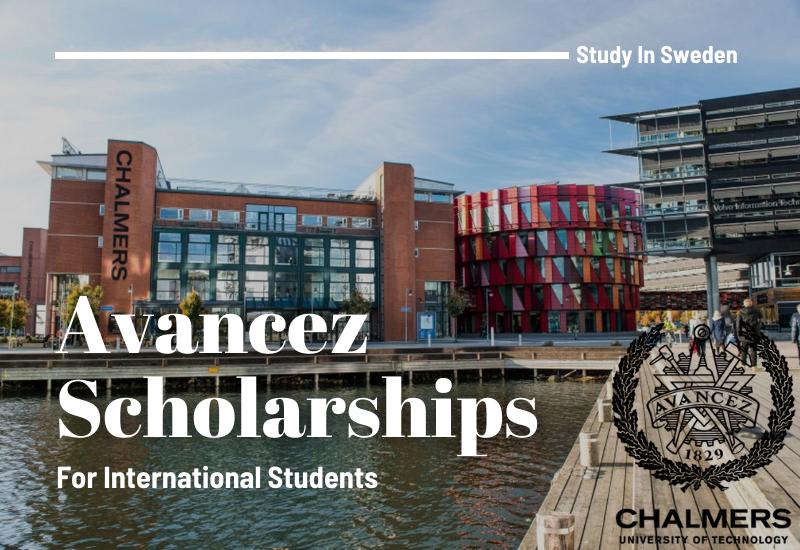 Chalmers University of TechnologyAvancez Scholarship in Sweden