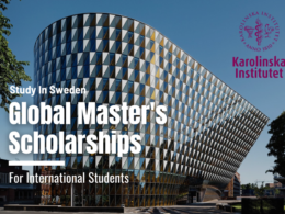 Karolinska Institutet Global Master's Scholarships in Sweden, 2021