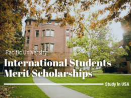 Pacific University International Students Merit Scholarships in USA, 2020