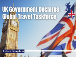 UK Government Declares Global Travel Taskforce