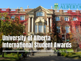 University of Alberta International Student Awards, Canada