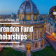 University of Oxford Clarendon Fund Scholarships for International Students, UK 2021