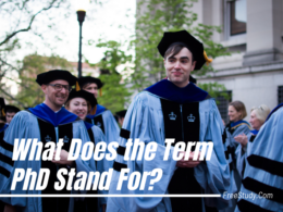 What Does the Term PhD Stand For?