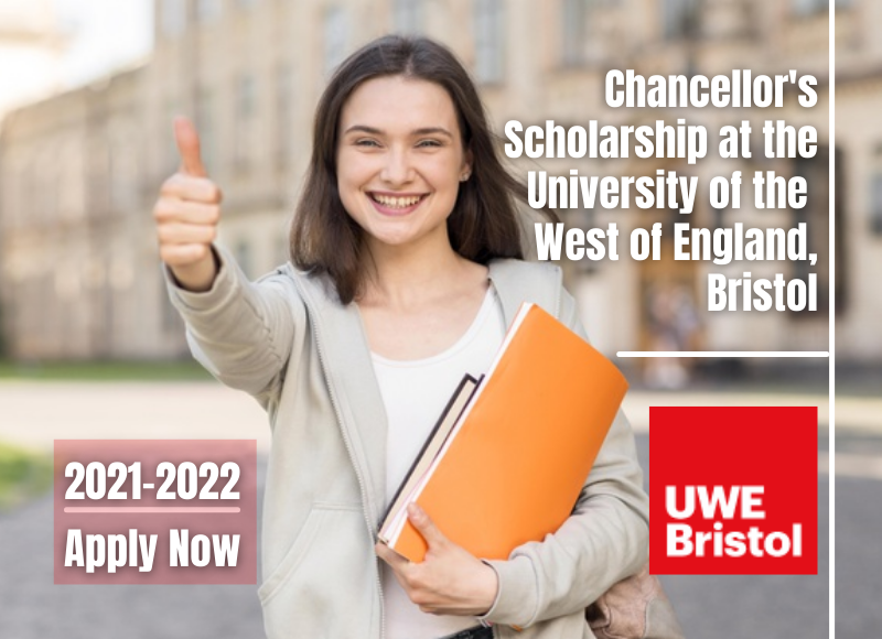 Chancellors Scholarship at the University of the West of England Bristol