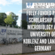 Fully-funded PhD Scholarship in Microbiology at University of Koblenz and Landau, Germany