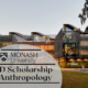 Monash University PhD Scholarship in Anthropology
