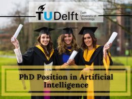 PhD Position in Artificial Intelligence at Delft University of Technology