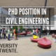 PhD Position in Civil Engineering at the University of Twente