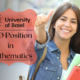 PhD Position in Mathematics at the University of Basel Switzerland
