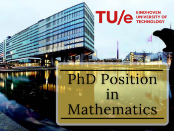 PhD Position in Mathematics at the Eindhoven University of Technology