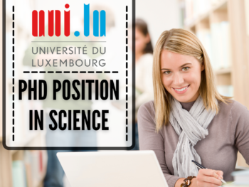 PhD Position in Science at the University of Luxembourg