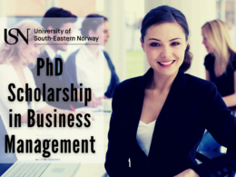 PhD Scholarship in Business Management at the University of South-Eastern Norway