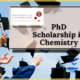 PhD Scholarship in Chemistry at the University of Copenhagen