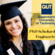 PhD Scholarship in Engineering at the Queensland University of Technology