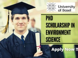 PhD Scholarship in Environment Science at the University of Basel