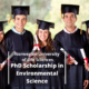 PhD Scholarship in Environmental Science
