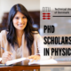 PhD Scholarship in Physics at the Technical University of Denmark