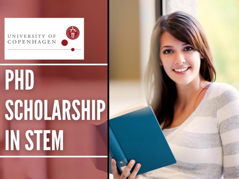 PhD Scholarship in STEM at the University of Copenhagen