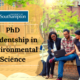 PhD Studentship in Environmental Science at the University of Southampton