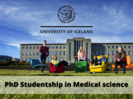 PhD Studentship in Medical Science at the University of Iceland