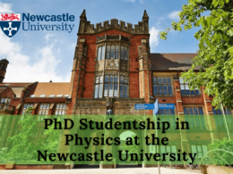 PhD Studentship in Physics at the Newcastle University