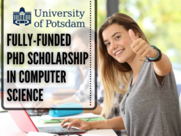 Fully-funded PhD Scholarship in Computer Science